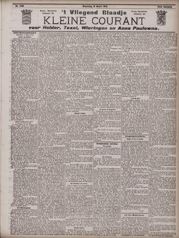 Vliegend blaadje : nieuws- en advertentiebode voor Den Helder 1903-03-18