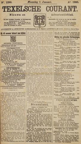 Texelsche Courant 1900