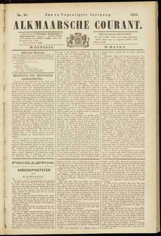 Alkmaarsche Courant 1889-03-20