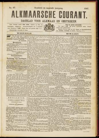 Alkmaarsche Courant 1907-03-20