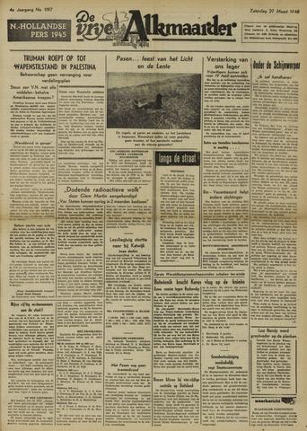 De Vrije Alkmaarder 1948-03-27
