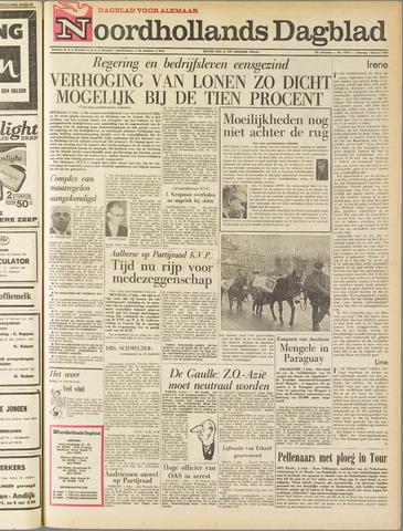 Noordhollands Dagblad : dagblad voor Alkmaar en omgeving 1964-02-01
