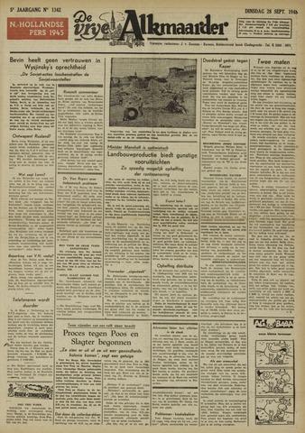 De Vrije Alkmaarder 1948-09-28
