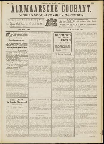 Alkmaarsche Courant 1908-12-21