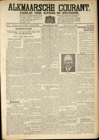 Alkmaarsche Courant 1934-07-18