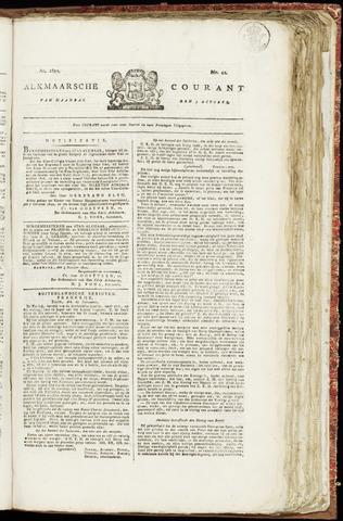 Alkmaarsche Courant 1820-10-09