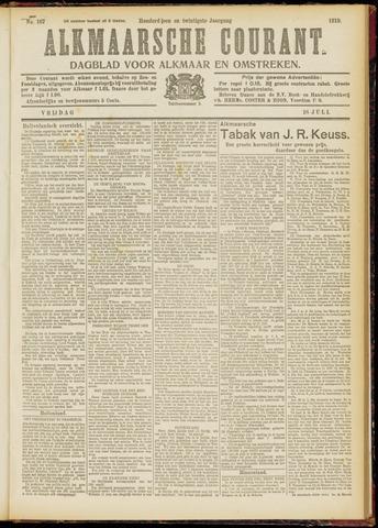 Alkmaarsche Courant 1919-07-18