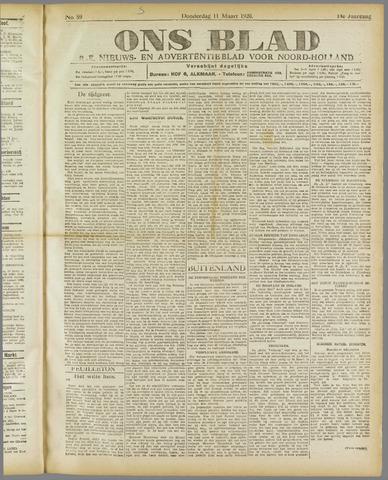 Ons Blad : katholiek nieuwsblad voor N-H 1920-03-11