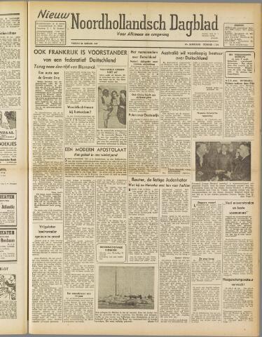 Nieuw Noordhollandsch Dagblad : voor Alkmaar en omgeving 1947-01-24