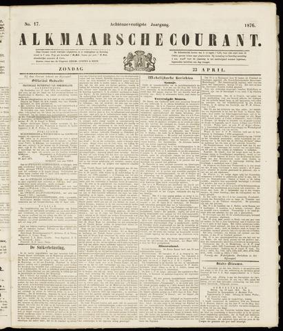 Alkmaarsche Courant 1876-04-23