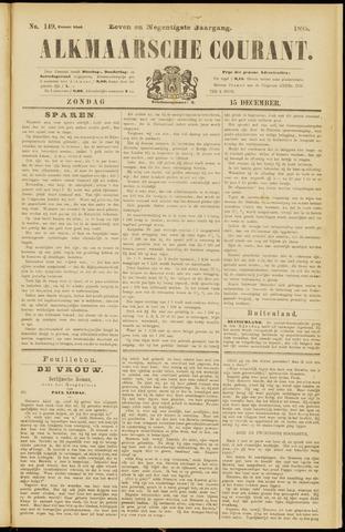 Alkmaarsche Courant 1895-12-15