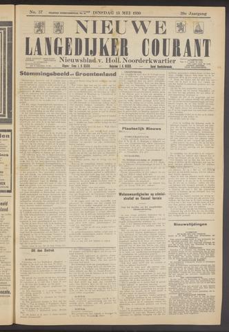 Nieuwe Langedijker Courant 1930-05-13