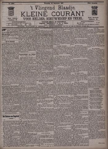 Vliegend blaadje : nieuws- en advertentiebode voor Den Helder 1897-09-22