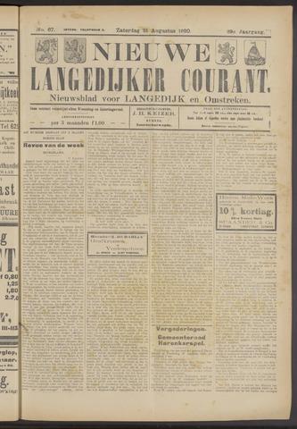 Nieuwe Langedijker Courant 1920-08-21