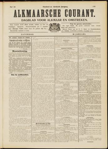 Alkmaarsche Courant 1911-01-28