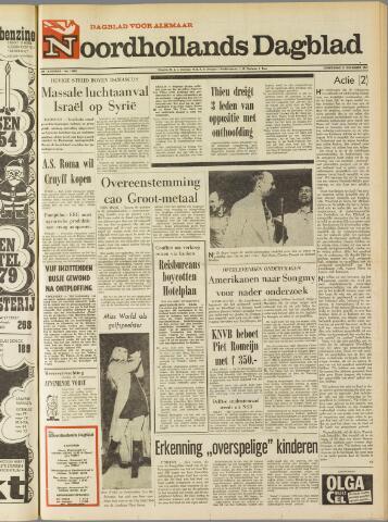 Noordhollands Dagblad : dagblad voor Alkmaar en omgeving 1969-12-11
