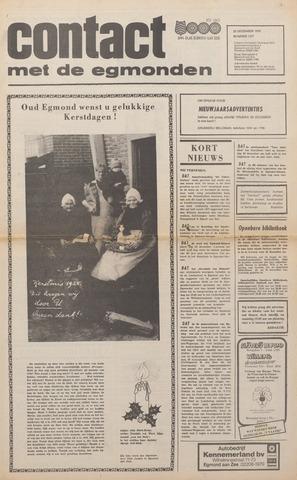 Contact met de Egmonden 1976-12-22