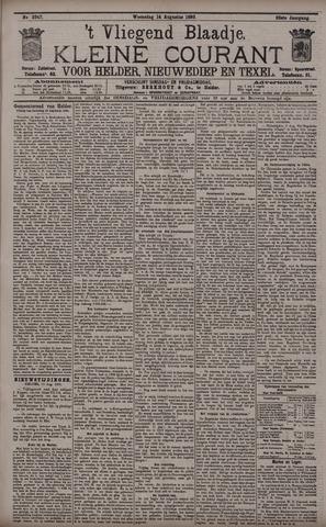 Vliegend blaadje : nieuws- en advertentiebode voor Den Helder 1895-08-14
