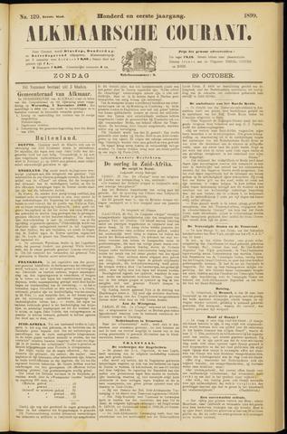 Alkmaarsche Courant 1899-10-29