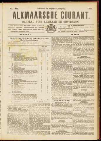Alkmaarsche Courant 1907-05-14