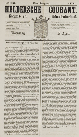 Heldersche Courant 1871-04-12
