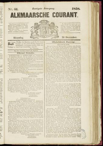 Alkmaarsche Courant 1858-12-20