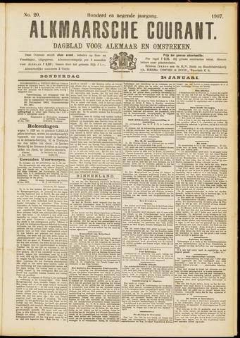 Alkmaarsche Courant 1907-01-24