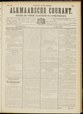 Alkmaarsche Courant 1910-10-12