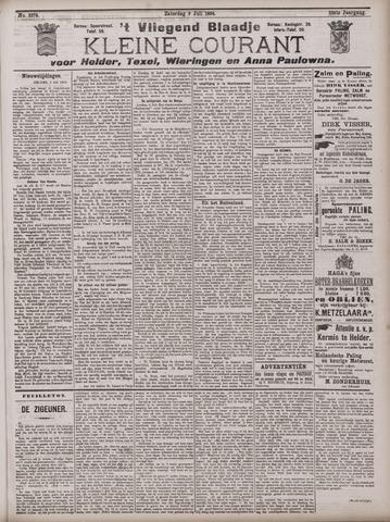 Vliegend blaadje : nieuws- en advertentiebode voor Den Helder 1904-07-09