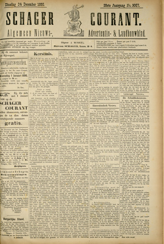 Schager Courant 1895-12-24