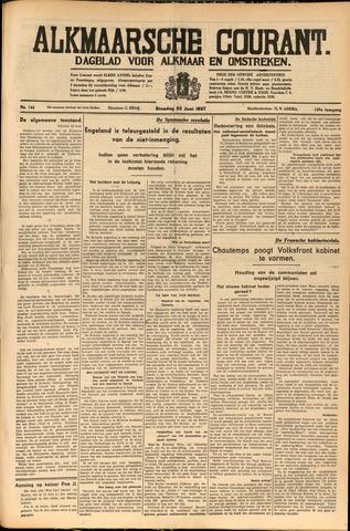 Alkmaarsche Courant 1937-06-22