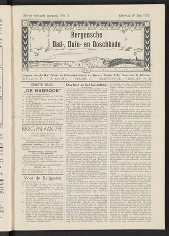 Bergensche bad-, duin- en boschbode 1935-06-29
