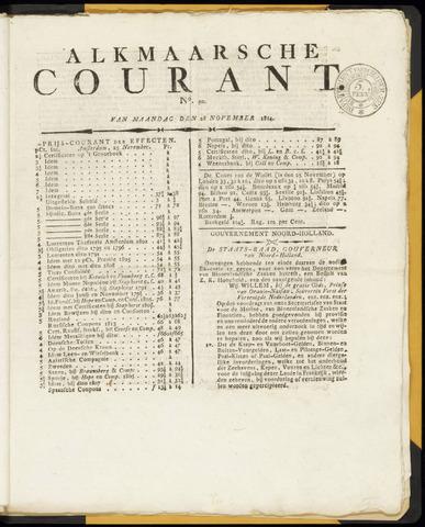 Alkmaarsche Courant 1814-11-28