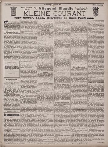 Vliegend blaadje : nieuws- en advertentiebode voor Den Helder 1904-10-05
