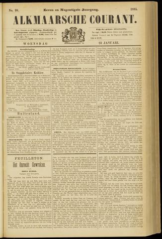 Alkmaarsche Courant 1895-01-23