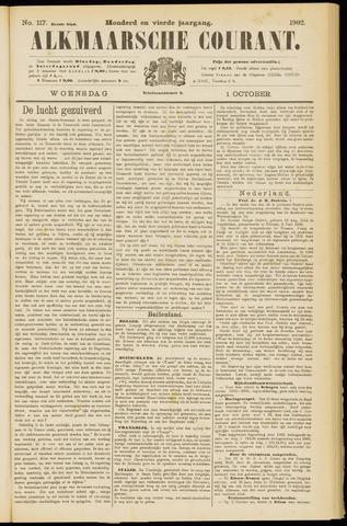 Alkmaarsche Courant 1902-10-01