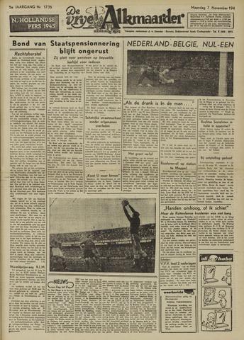 De Vrije Alkmaarder 1949-11-07