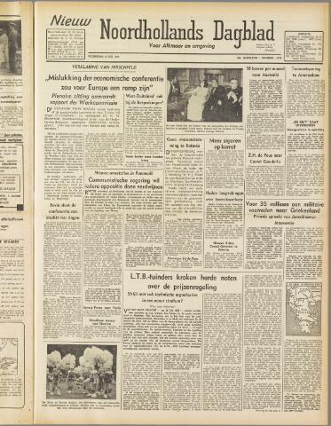 Nieuw Noordhollandsch Dagblad : voor Alkmaar en omgeving 1947-07-16
