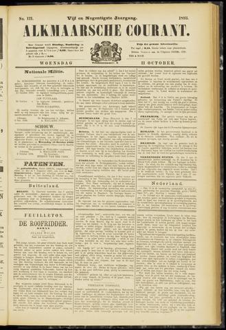 Alkmaarsche Courant 1893-10-11
