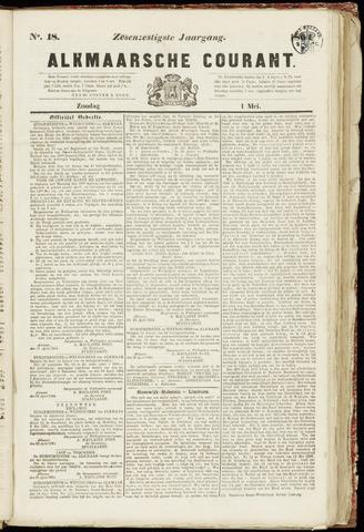 Alkmaarsche Courant 1864-05-01
