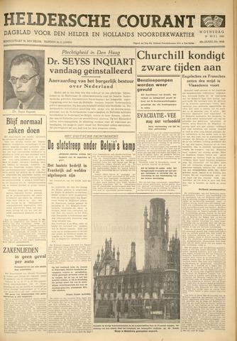 Heldersche Courant 1940-05-29
