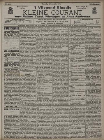 Vliegend blaadje : nieuws- en advertentiebode voor Den Helder 1907-09-04