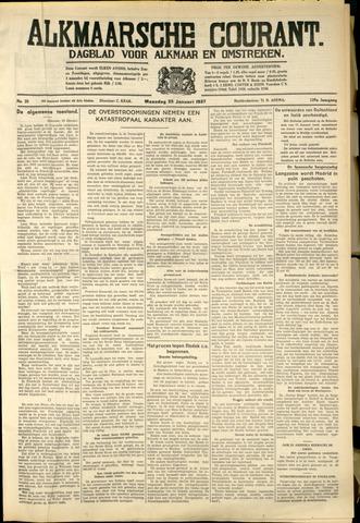 Alkmaarsche Courant 1937-01-25
