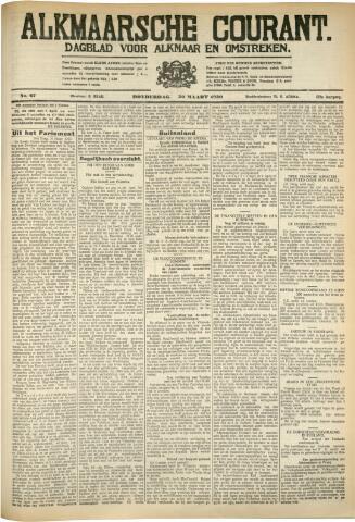 Alkmaarsche Courant 1930-03-20