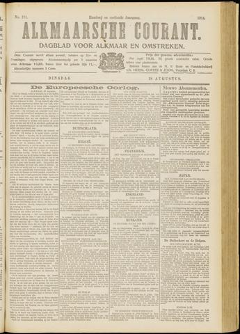 Alkmaarsche Courant 1914-08-18