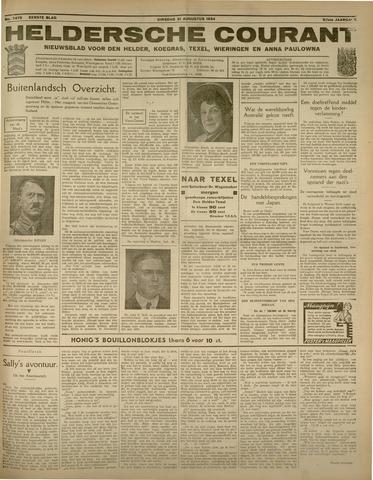 Heldersche Courant 1934-08-21