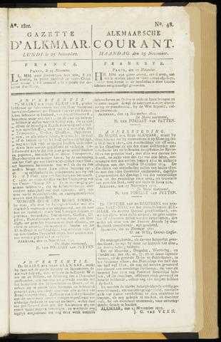 Alkmaarsche Courant 1811-11-25
