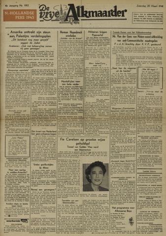 De Vrije Alkmaarder 1948-03-20