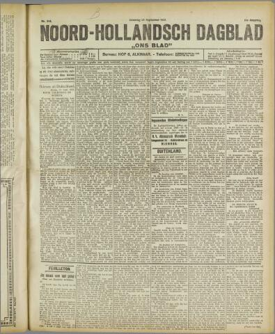 Ons Blad : katholiek nieuwsblad voor N-H 1922-09-23