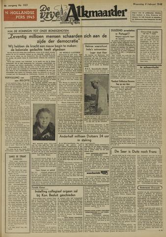 De Vrije Alkmaarder 1948-02-04